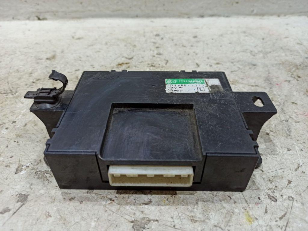 Блок управления печкой Subaru