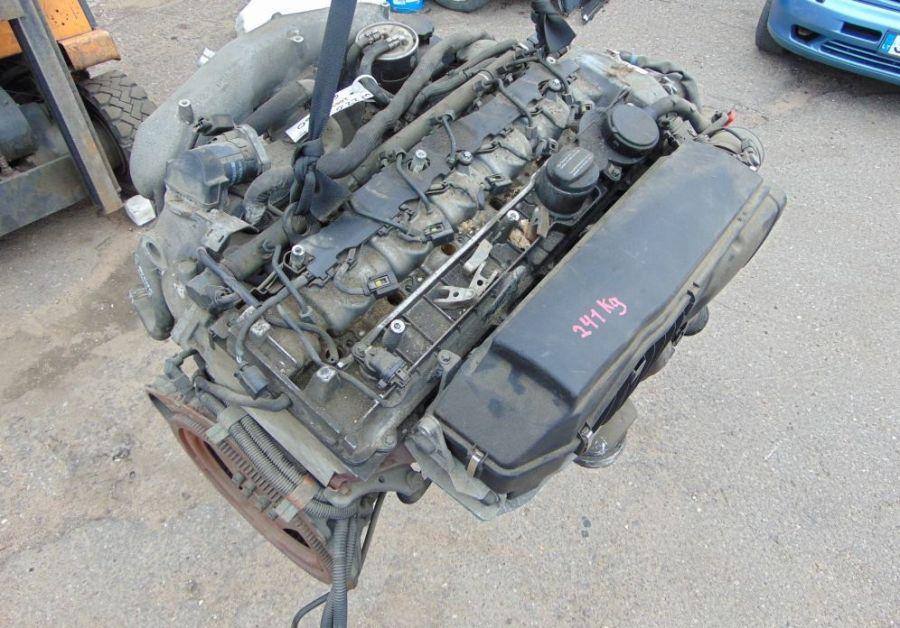 Двигатель Mercedes