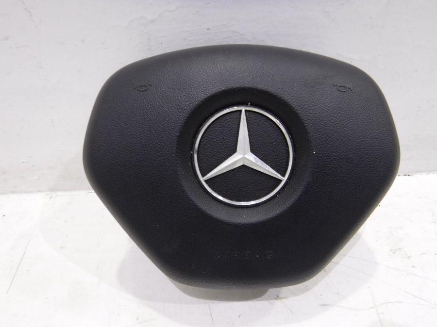Подушка безопасности в руль Mercedes