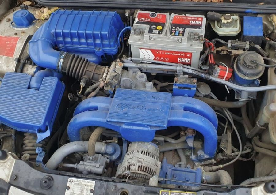Двигатель Alfa Romeo